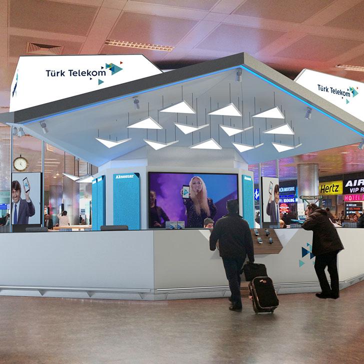 Türk Telekom Havalimanı Mağazası