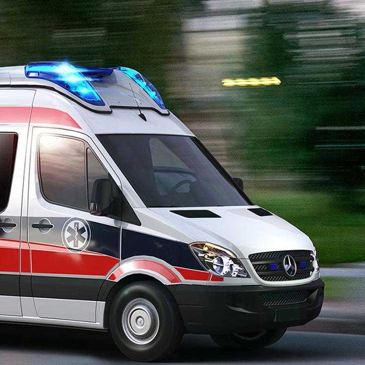 Ambulans Işık ve Uyarı Sistemi