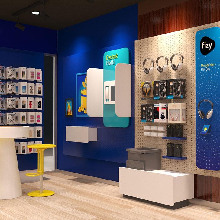 Turkcell Mağaza Mobilya Optimizasyon ve Mühendislik