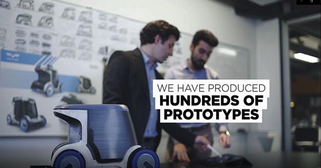 Tasarım stratejilerinde üretilen prototipler görseli