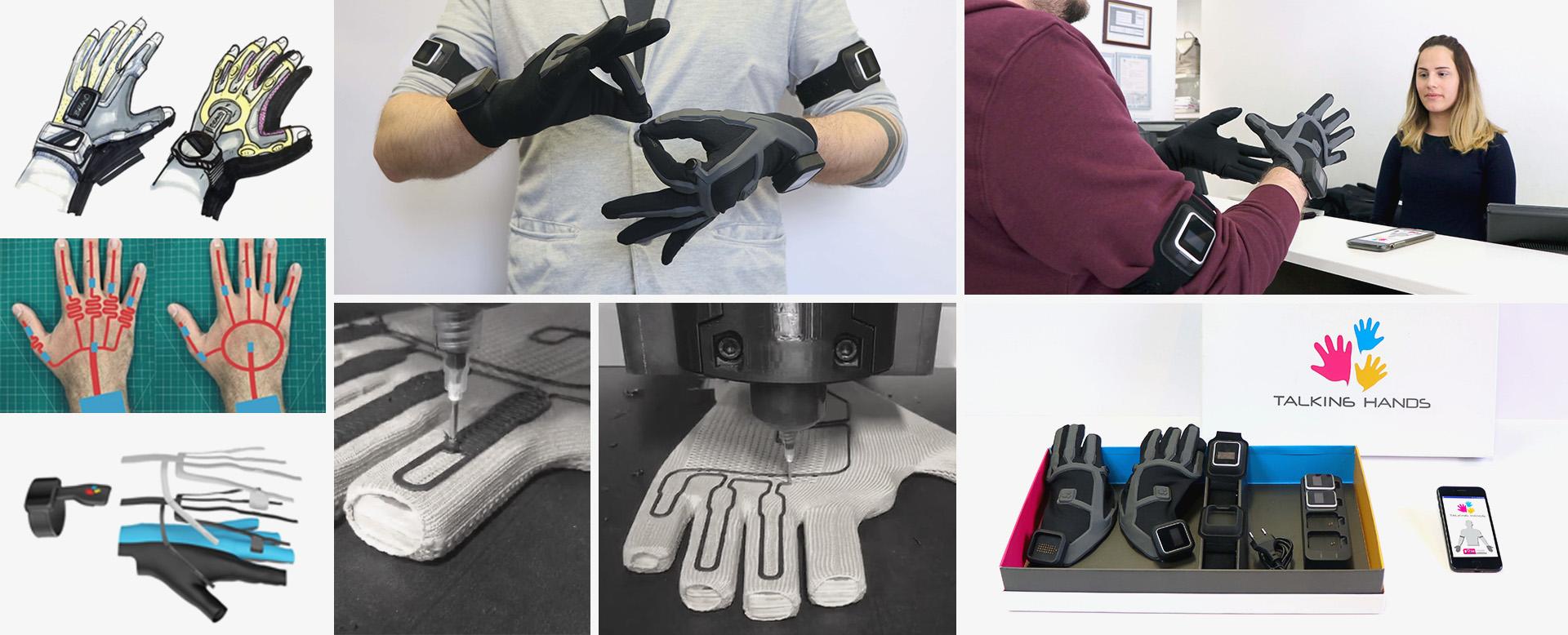 Prototipleme ve Test Aşaması örnek projesi Konuşan Eller